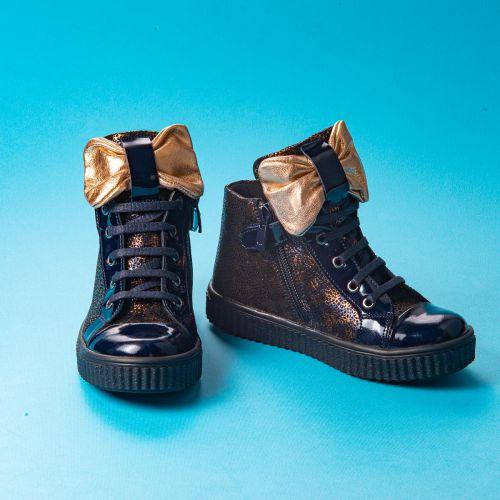 Ботинки для девочек 1002 | Детская обувь 14,6 см оптом и дропшиппинг