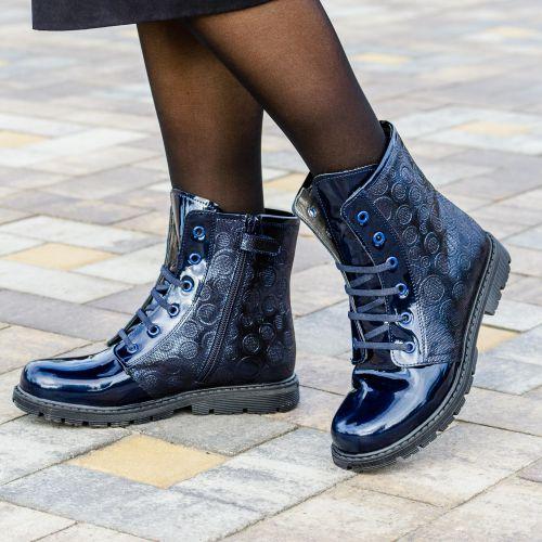 Ботинки для девочек 1006   Детская обувь оптом и дропшиппинг