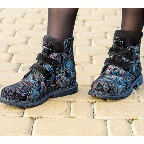 Ботинки для девочек 1011 | Детская обувь 20,4 см оптом и дропшиппинг
