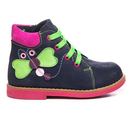 Ботинки для девочек 1022   Детская обувь 14,6 см оптом и дропшиппинг