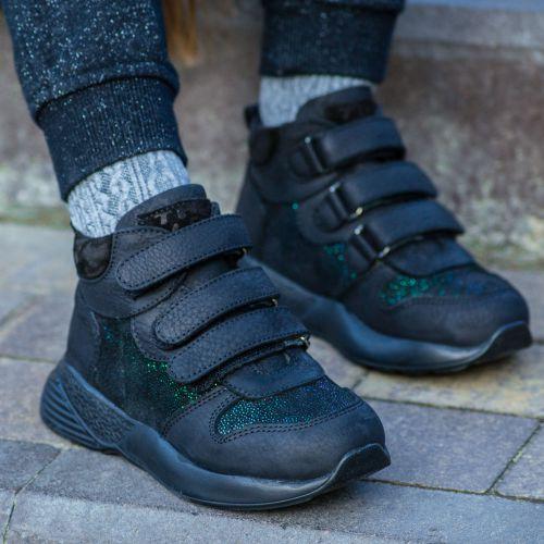 Ботинки для девочек 1029 | Школьная детская обувь оптом и дропшиппинг