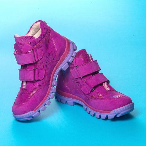 Ботинки для деовчек 1047   Детская обувь 18,6 см оптом и дропшиппинг