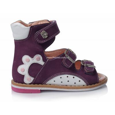 Ортопедические босоножки 105 | Белая детская обувь 25 размер 11,8 см