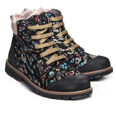 Зимние ботинки для девочек 1050