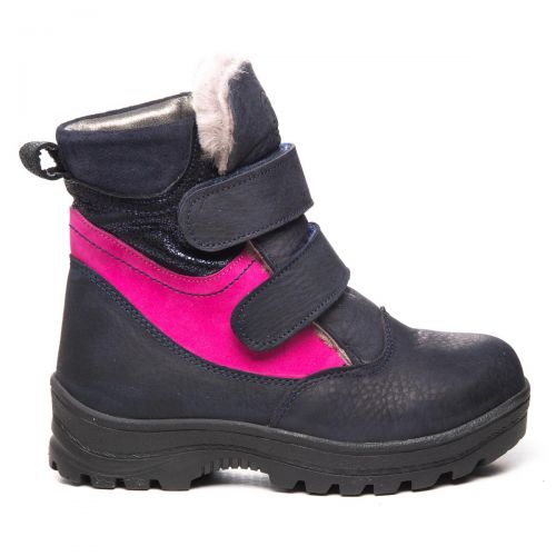 Зимние ботинки для девочек 1056 | Детская обувь оптом и дропшиппинг