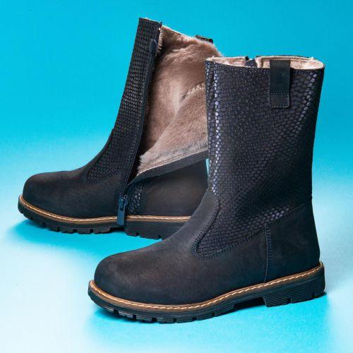 Зимние сапоги для девочек 1058 | Детская обувь 25,7 см оптом и дропшиппинг