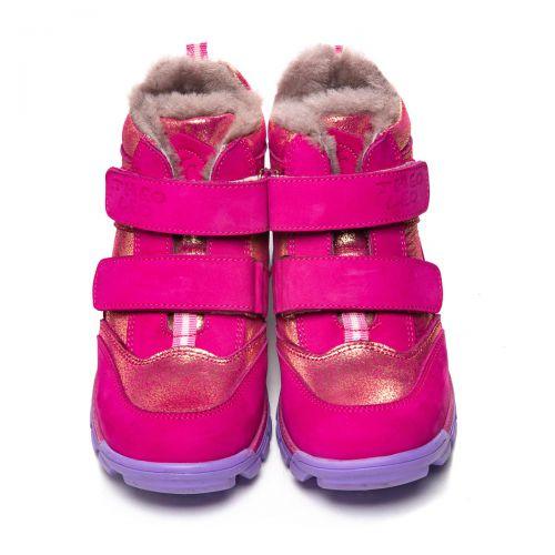 Зимние ботинки для девочек 1061 | Детская обувь 15 см оптом и дропшиппинг