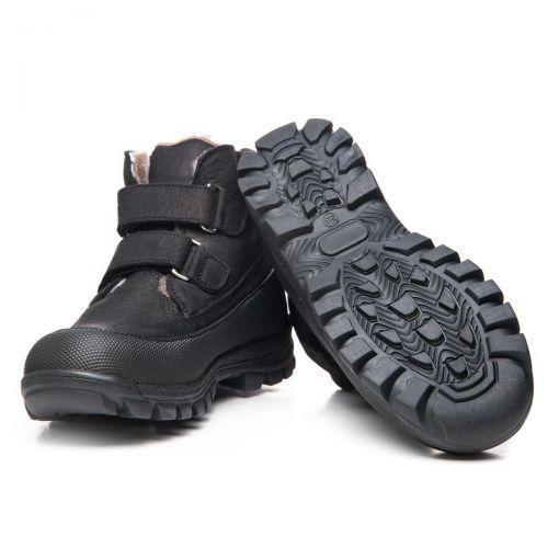 Зимние ботинки для мальчиков 1065 | Детская обувь 15 см оптом и дропшиппинг
