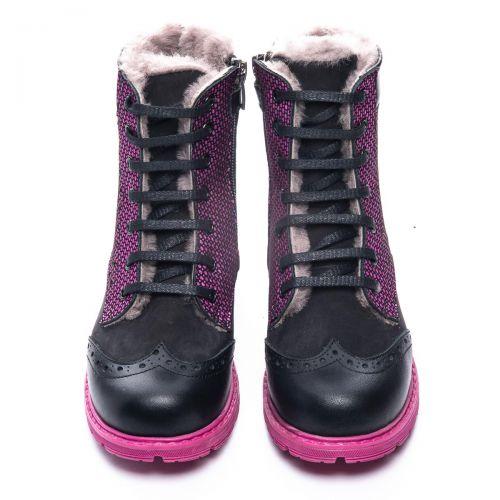 Зимние ботинки для девочек 1068 | Модная детская обувь оптом и дропшиппинг