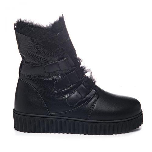 Зимние ботинки для девочек 1072 | Детская обувь 24 см оптом и дропшиппинг