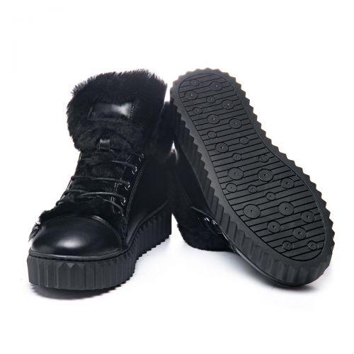Зимние ботинки для девочек 1073 | Детская обувь 24 см оптом и дропшиппинг