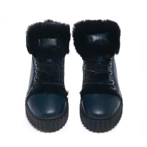 Зимние ботинки для девочек  1074 | Детская обувь 25,7 см оптом и дропшиппинг