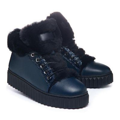 Зимние ботинки для девочек  1074