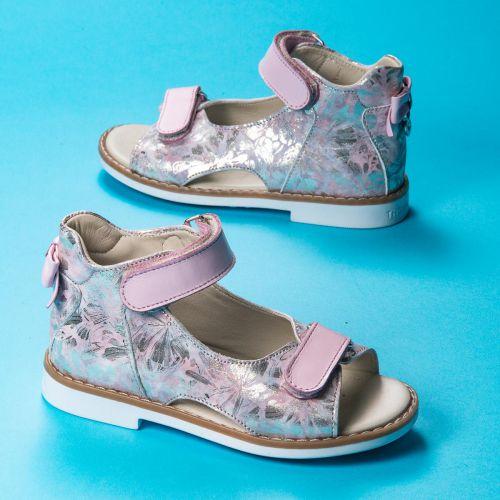 Босоножки для девочек 1096 | Детская обувь 18 см оптом и дропшиппинг