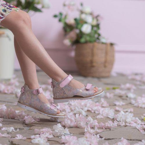 Босоножки для девочек 1096 | Детская обувь 14,6 см оптом и дропшиппинг