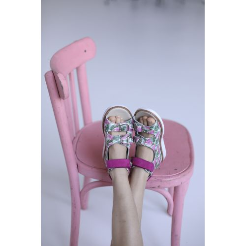 Босоножки для девочки 1138 | Детская обувь 14 см оптом и дропшиппинг