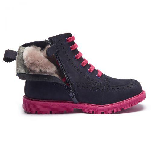 Зимние ботинки для девочек 1187 | Детская обувь оптом и дропшиппинг