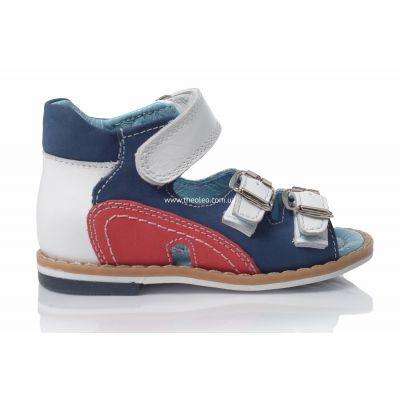 Босоножки 120 | Белая детская обувь 2 года из нубука