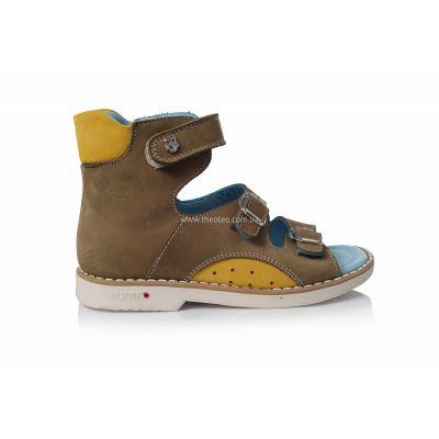 Ортопедические босоножки 124 | Распродажа высокой детской обуви