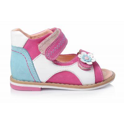 Босоножки 139 | Белая детская обувь 2 года из нубука