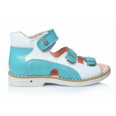 Босоножки 150 | Бирюзовая обувь для девочек 17,7 см