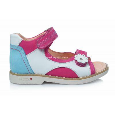 Босоножки 158 | Бирюзовая обувь для девочек, для мальчиков 27 размер