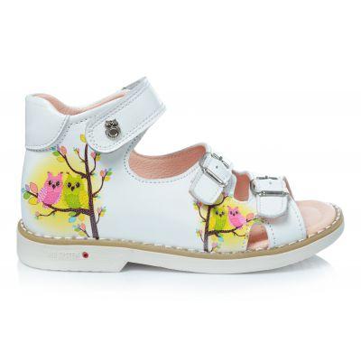 Босоножки 165 | Белая обувь для девочек, для мальчиков 19,9 см