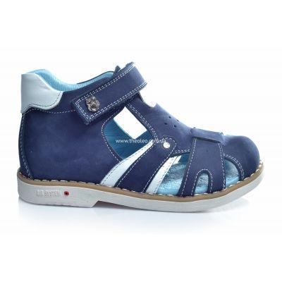 Босоножки 189 | Белая обувь для девочек, для мальчиков из нубука
