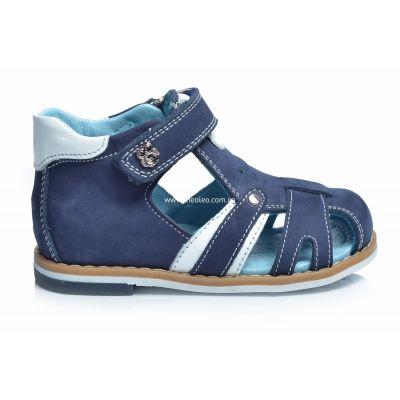 Босоножки 190 | Белая детская обувь 2 года из нубука