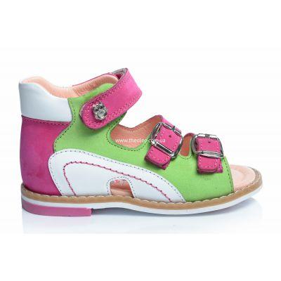 Босоножки 196 | Белая детская обувь 2 года из нубука