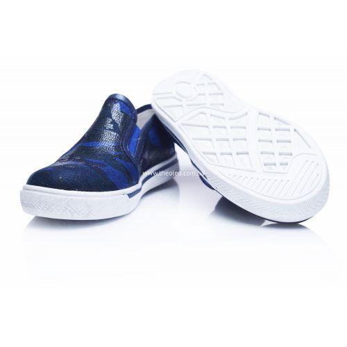 Слипоны 203 | Текстильная детская обувь оптом и дропшиппинг