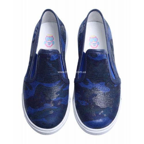 Слипоны 203   Текстильная детская обувь оптом и дропшиппинг