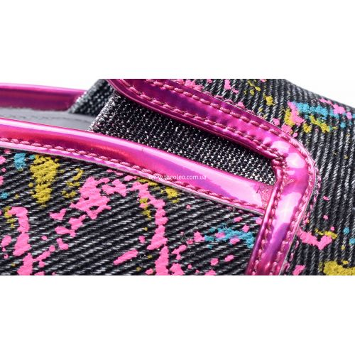 Слипоны 206 | Текстильная детская обувь оптом и дропшиппинг