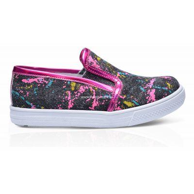 Слипоны 206 | Белая обувь для девочек, для мальчиков 14 см