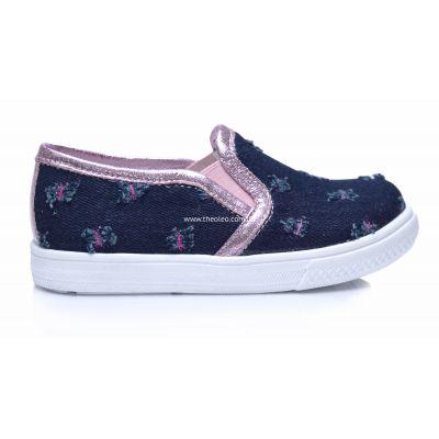 Слипоны 208 | Белая обувь для девочек, для мальчиков 18,7 см