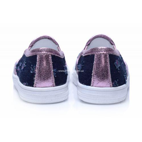 Слипоны 208   Текстильная детская обувь оптом и дропшиппинг