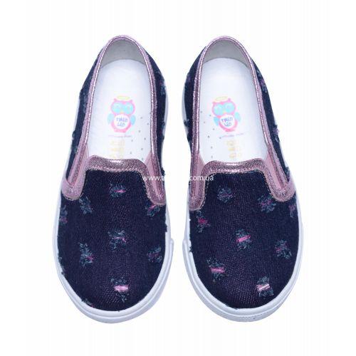 Слипоны 207 | Текстильная детская обувь оптом и дропшиппинг