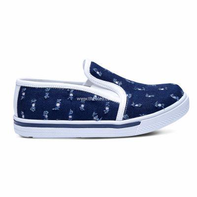 Слипоны 218 | Белая детская обувь 2 года 16,6 см