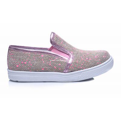 Слипоны 221 | Бежевая детская обувь 2, 4 лет 26 размер