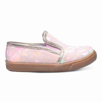Слипоны 223 | Бежевая осенняя детская обувь