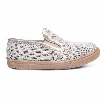 Слипоны 225 | Бежевая осенняя детская обувь