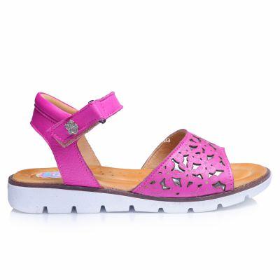 Босоножки 236 | Бежевые, розовые приглушенные, розовые модные туфли, босоножки для девочек 5, 6 лет 27 размер