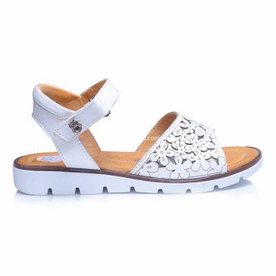 Босоножки 237 | Белая обувь для девочек, для мальчиков 19,5 см