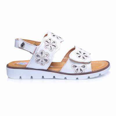 Босоножки 239 | Белая обувь для девочек, для мальчиков 19,5 см