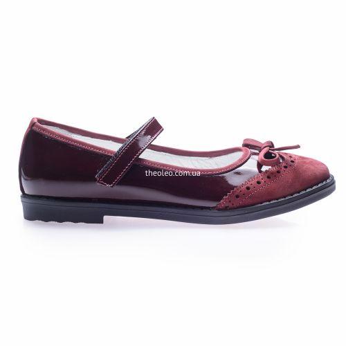 Туфли для девочек 252 | Детская обувь 22,4 см оптом и дропшиппинг