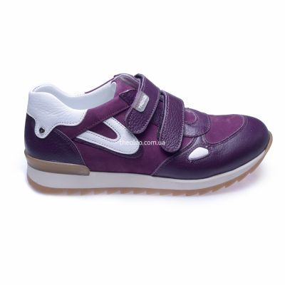 Кроссовки для девочек 260 | Белая детская обувь 21 см из нубука