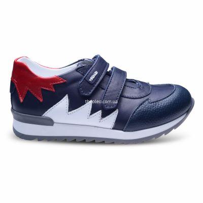 Кроссовки для мальчиков 289 | Белая детская обувь 21 см из нубука