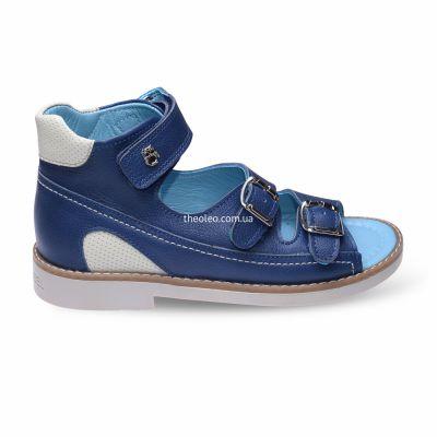 Босоножки для мальчиков 299 | Бежевая обувь для мальчиков 20,3 см