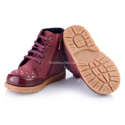 Ботинки для девочек 323 | фото 6