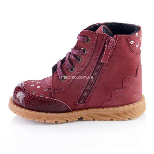 Ботинки для девочек 322 | Детская обувь 13,7 см оптом и дропшиппинг